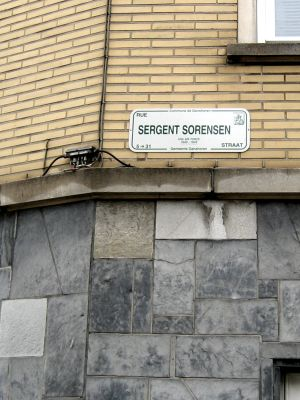 Street named after GERALD E SORENSEN