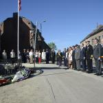 Neupré wreath laying ceremony