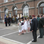 Plombières wreath laying ceremony