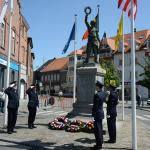 Waregem wreath-laying ceremony