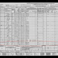 Jasper T Aaser 1940 census part I