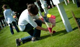 Placing flags