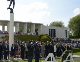 Henri-Chapelle ceremony 2016