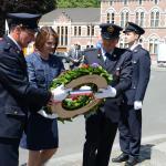 Waregem ceremony