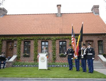 Flanders Field Visitors Center opening