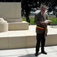Kemmel American Monument Ceremony