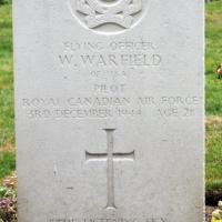 William Warfield grave photograpn