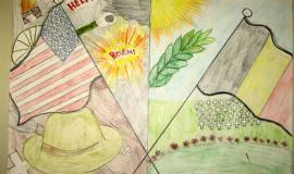 Youth artwork explores local history